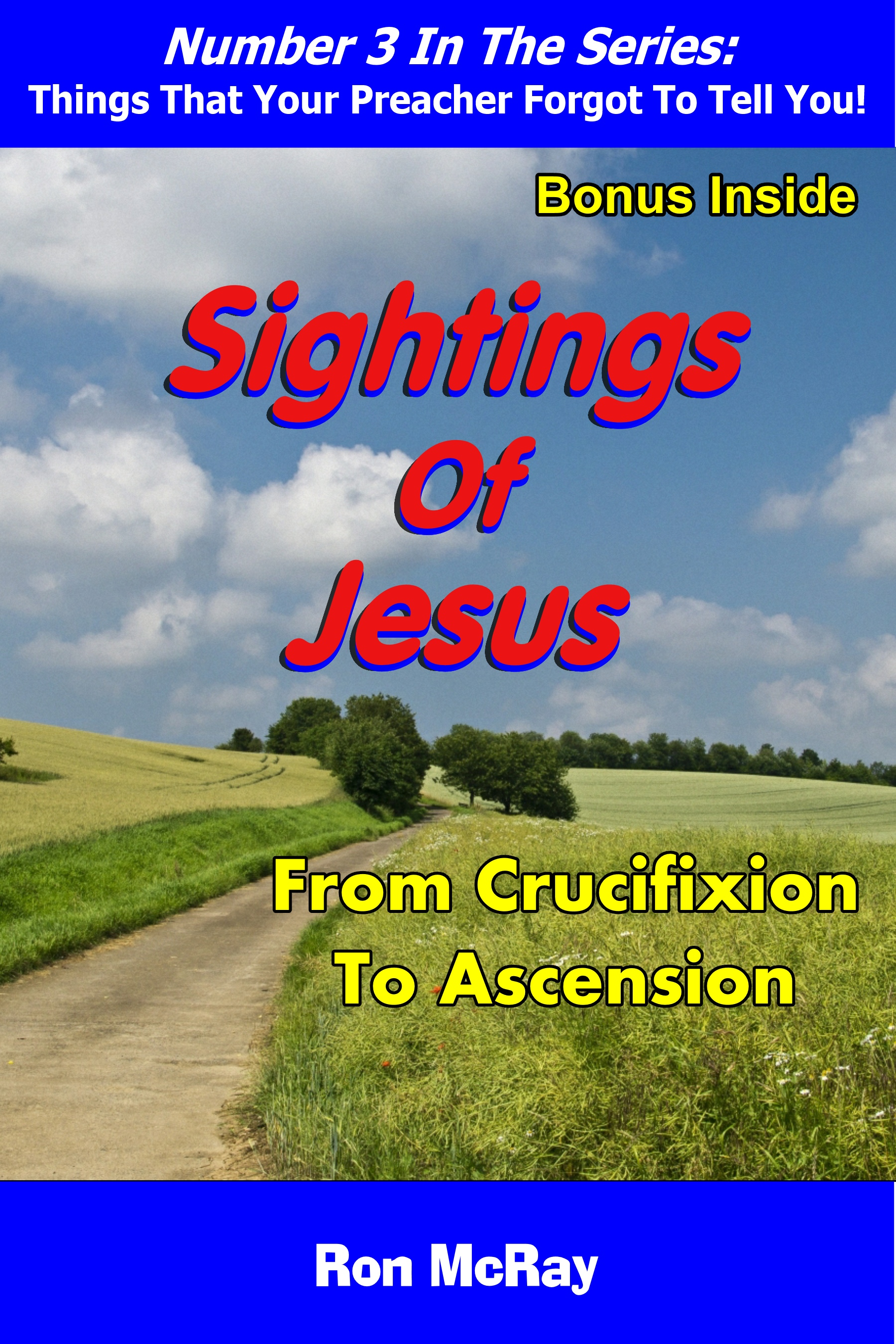 Sightings Of Jesus: From Crucifixion To Ascension
